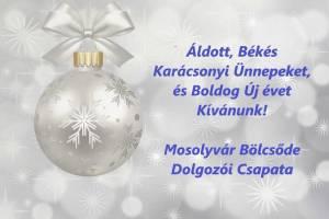 Kellemes ünnepeket